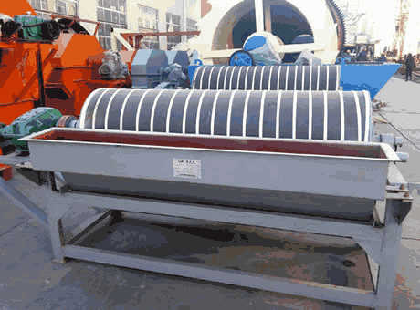 Wet Drum Magnetic Separator JXSC Machine