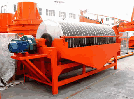 Magnetic Separation Machine FeaturesTechnicalApplication