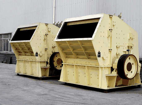 VERTICAL SHAFT IMPACT CRUSHERS Used Equipment Crusher