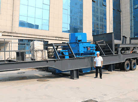Dragon Machinery Mobile Crushing Screening Plant