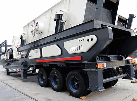 Silica Used Mobile Crusher