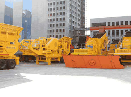 Used Mobile Secondary Crusher