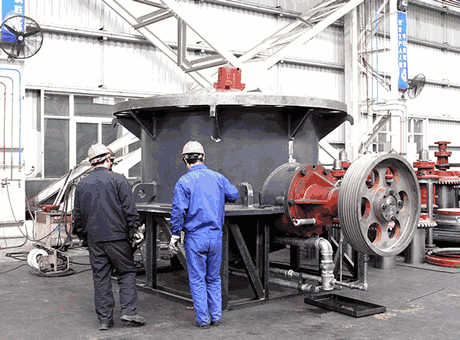 Cone Crusher Maintenance AggMan