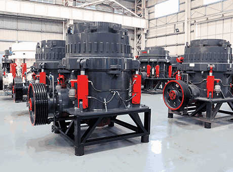 Cone Crusher Parts Mineral Processing Metallurgy
