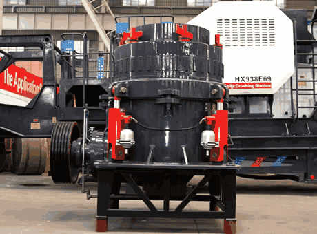 Cone Crusher Manual Book Maintenance