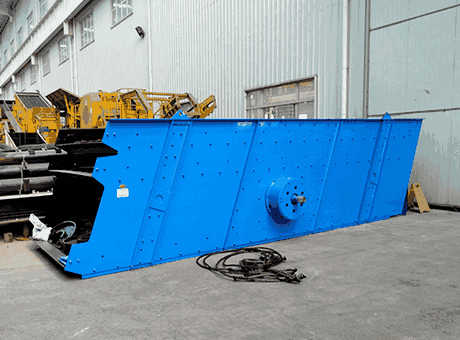 Vibrating Feeders Grizzly Feeder Manufacturer From