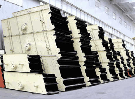 Design Of Vibrating Screen Machine Solution For Ore Mining